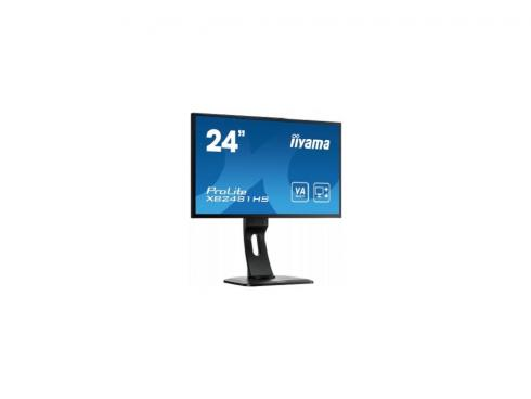 "Купить Монитор 24"" Iiyama Pro Lite XB2481HS-B1 черный VA LED 1920×1080 3000:1 DC 12000000:1 250cd/m^2 6ms VGA DVI HDMI"