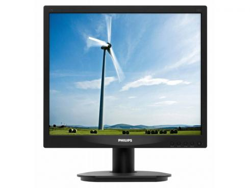 "Купить Монитор 17"" Philips 17S4LSB/62 черный TN LED 1280×1024 1000:1 DC 20000000:1 250cd/m2 5ms VGA"
