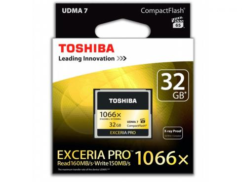 Купить Карта памяти Compact Flash Card 32Gb Toshiba CF-032GSGBL8
