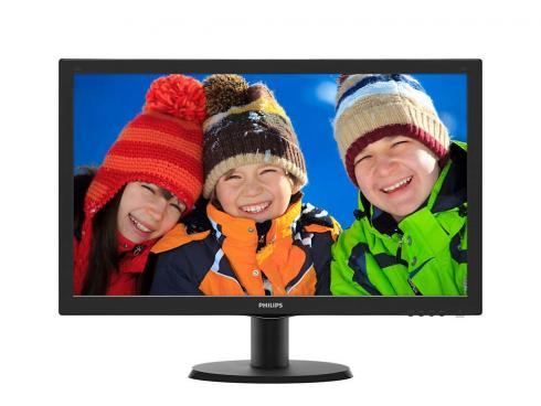 "Купить Монитор 23"" Philips 233V5QHABPR 00/01 черный PLS WLED 1920×1080 1000:1 DC 10000000:1 250cd/m^2 5ms HDMI VGA"