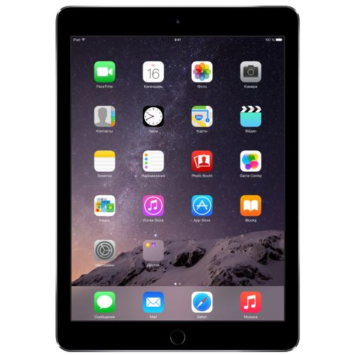 Купить Apple iPad Air 2 128Gb Wi-Fi Space Gray