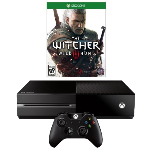 Купить Microsoft Xbox One 500Gb + The Witcher 3