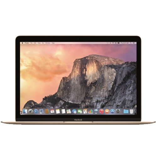 Купить Apple MacBook 12 MK4M2 RU/A Gold, Core™ M-5Y31, 1100 МГц, 8 Гб, 12 «, OS X 10.10 Yosemite, Wi-Fi