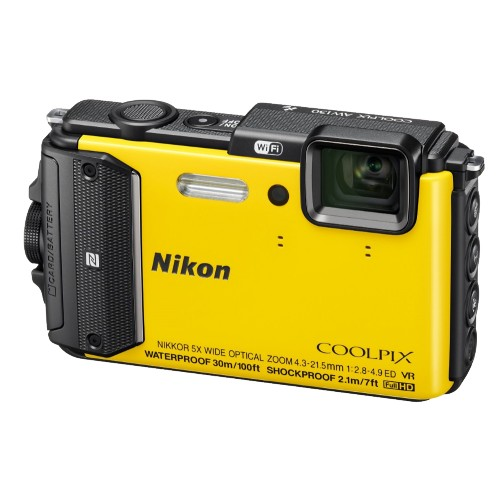 Купить Nikon Coolpix AW130 Yellow