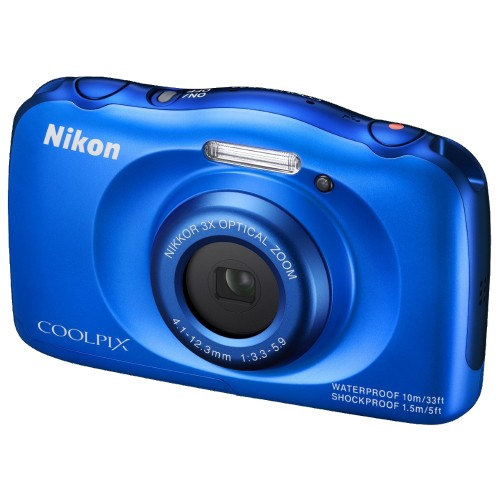 Купить Nikon Coolpix S33 Blue
