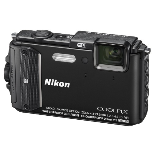 Купить Nikon Coolpix AW130 Black