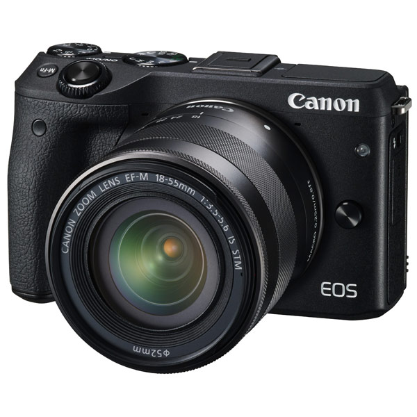 Купить Canon EOS M3 Kit 18-55 IS Black
