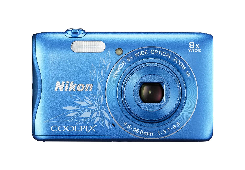 Купить Nikon CoolPix S3700 синий/рисунок