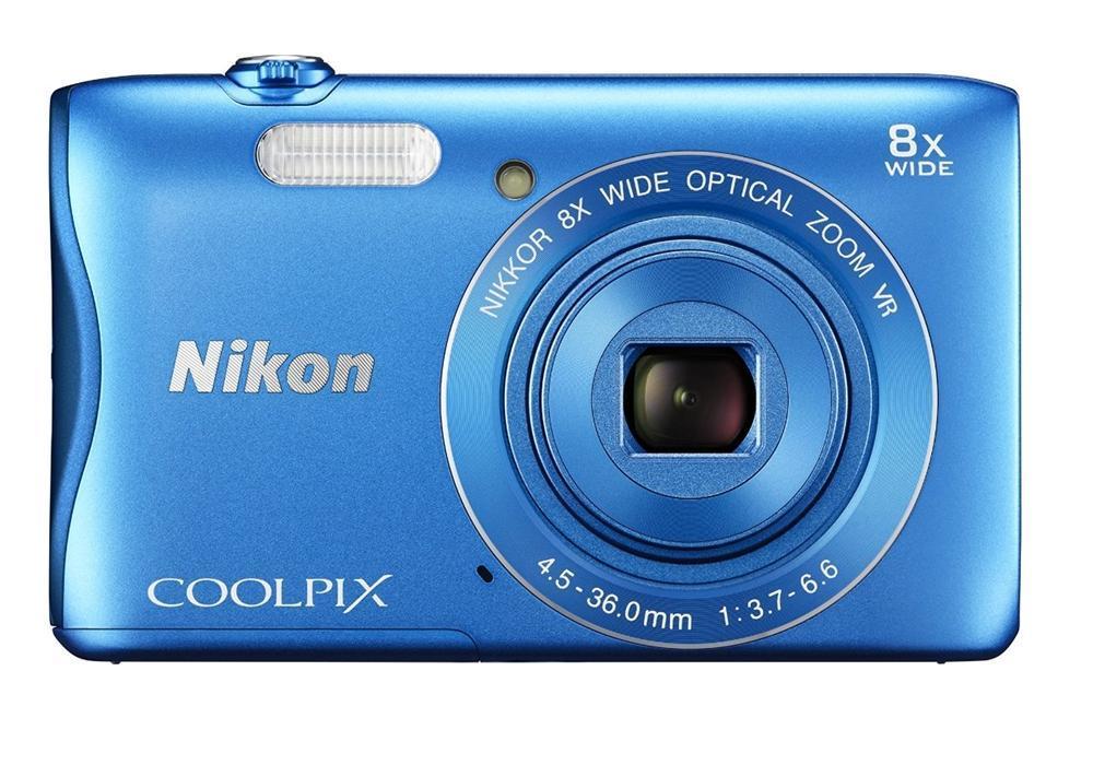 Купить Nikon CoolPix S3700 синий