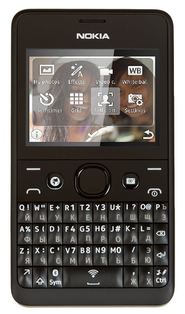 Nokia asha 210 black and white